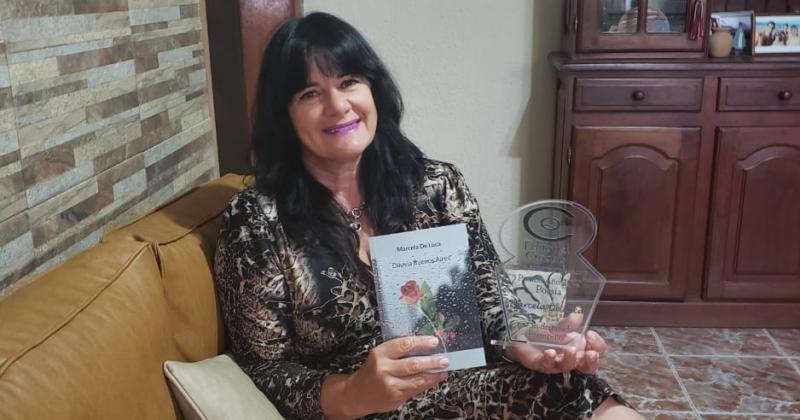 Marcela presenta su quinto libro