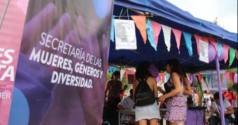 Lomas es parte en la agenda de mujeres géneros y diversidad