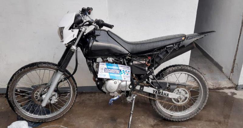 La moto fue robada en Capital Federal