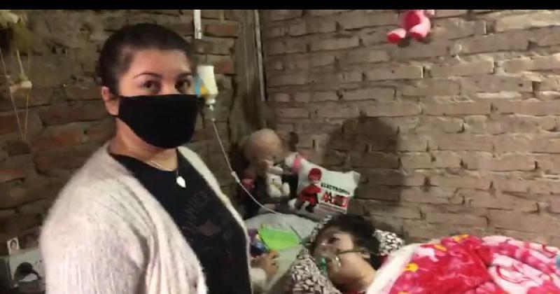 Araceli tiene 16 años y dificultades respiratorias y motrices