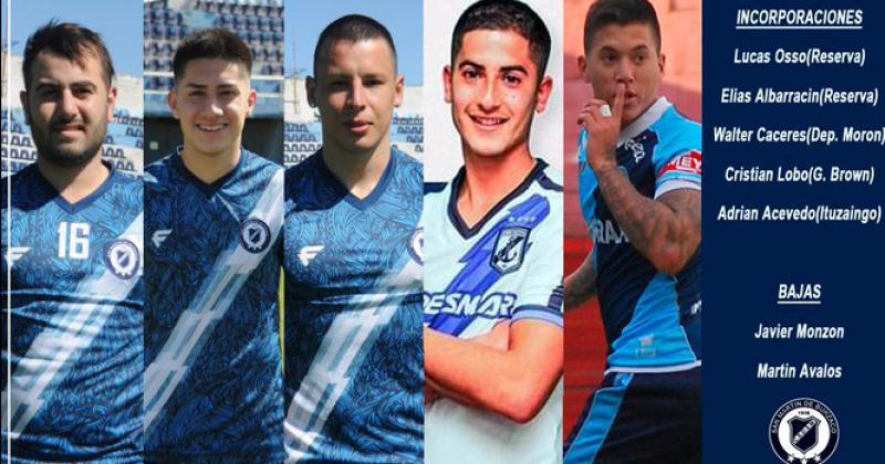 El Azul oficializó el arribo de los nuevos jugadores del plantel