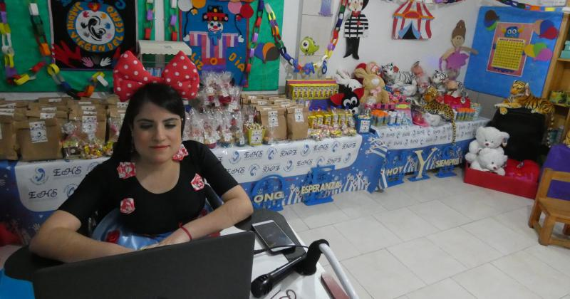 Estefanía Romero coordinadora y docente del jardín