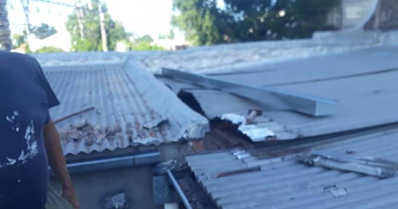 Desde los techos hasta las paredes est?n en plena construcción