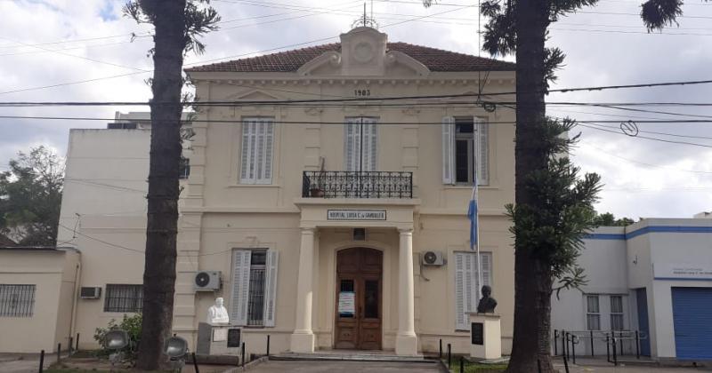 La fachada del hospital con m?s de un siglo de historia