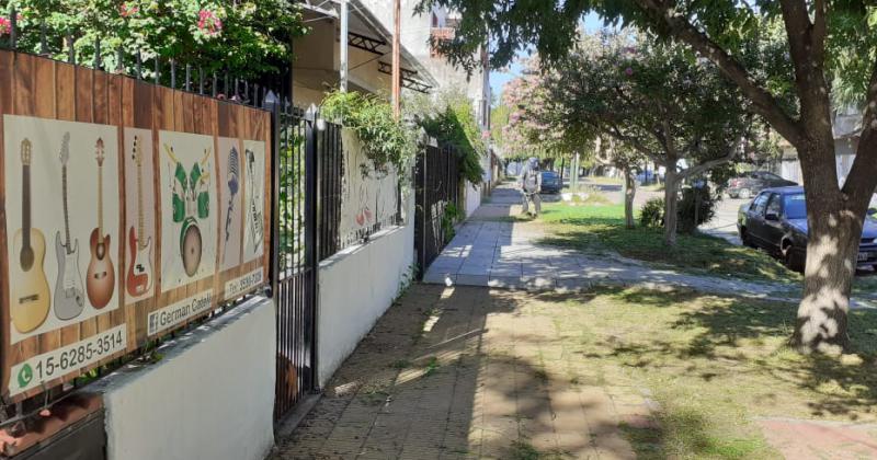 la calle Lamadrid cuna de artistas