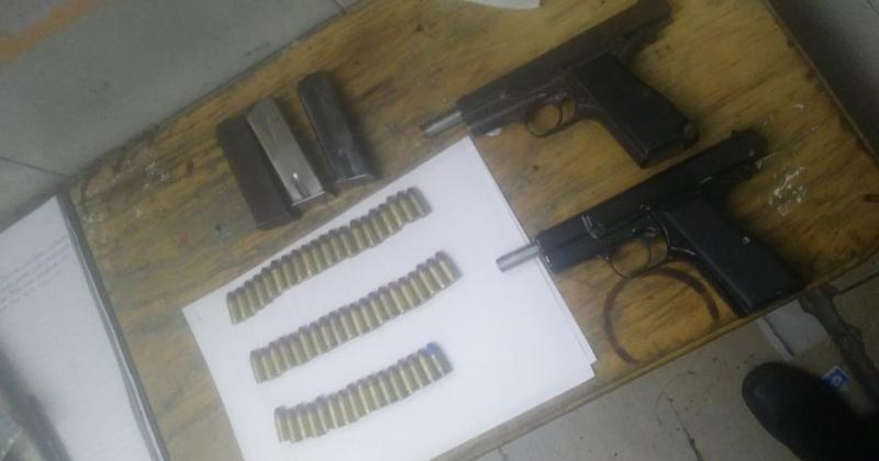 Secuestraron dos armas de fuego