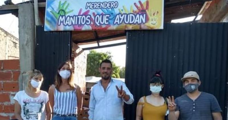 La pandemia les dio fuerzas y volvieron a trabajar por el barrio