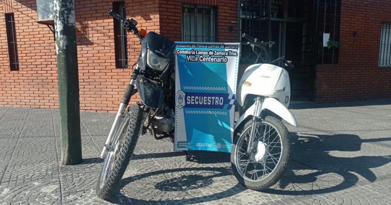 Se secuestraron motos armas y celulares