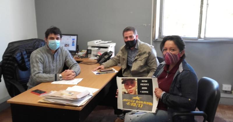 Lorena fue recibida por autoridades municipales