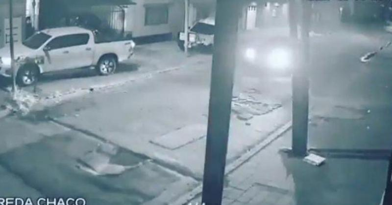 El video muestra la violencia del asalto