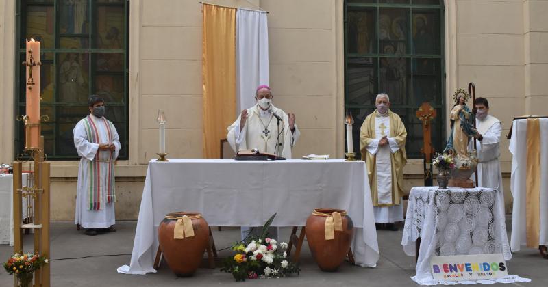 Las misas pueden contar con hasta 20 fieles presentes
