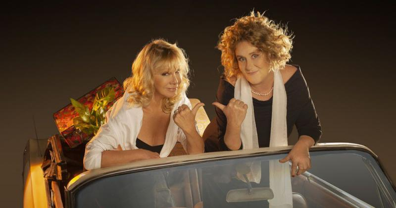 Dos grandes actrices