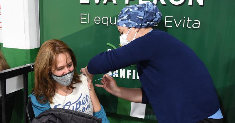 La campaña de vacunación avanza a paso firme