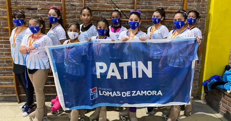 El Patín se volvió al Sur y 19 chicas subieron al podio