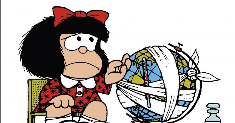 Mafalda y su globo terr?queo