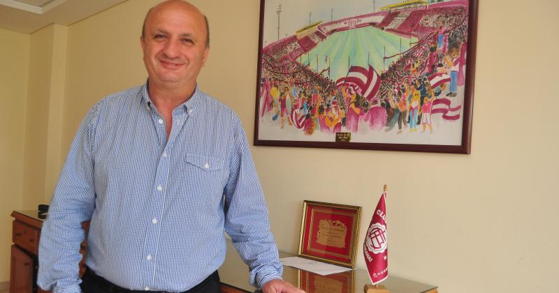 Nicol?s Russo presidente del Club Atlético Lanús