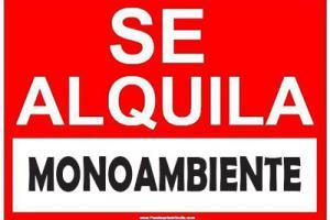 Departamentos Alquiler Sin datos Buenos Aires ALQUILO MONOAMBIENTE